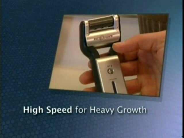 Emjoi Men's Rotoshave Electric Razor - image 5 from the video