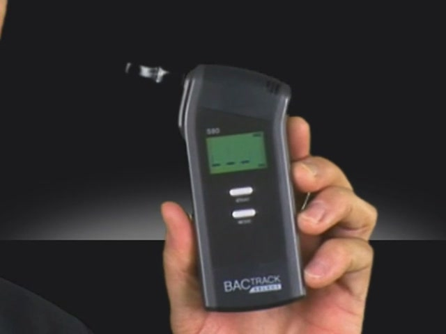 BACtrack S80 Breathalyzer - image 7 from the video
