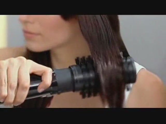 Infiniti by Conair Pro Spin Air Rotating Styler product | drugstore.com - image 3 from the video