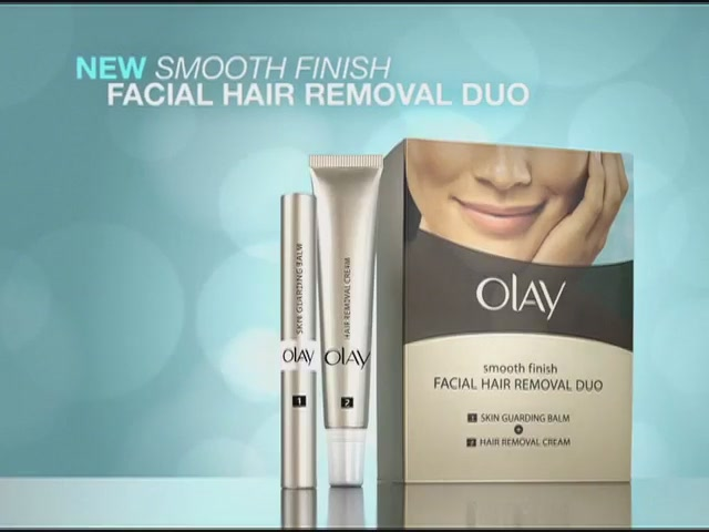 Olay Smooth Finish Facial Hair Removal Kit product | drugstore.com - image 4 from the video