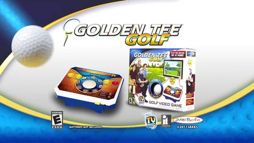 Jakks Golden Tee Deluxe Plug & Play TV Game - image 10 from the video