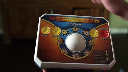 Jakks Golden Tee Deluxe Plug & Play TV Game - image 3 from the video