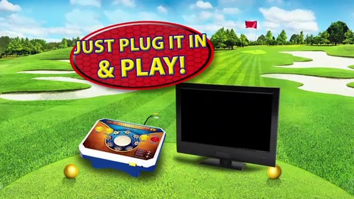 Jakks Golden Tee Deluxe Plug & Play TV Game - image 5 from the video
