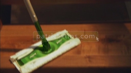 Swiffer Sweeper Dry Cloths - image 10 from the video