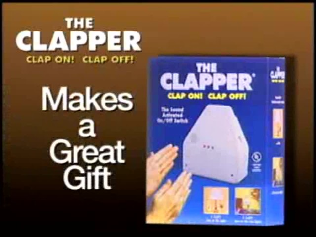 The Clapper - The Sound Activated On/Off Switch - image 1 from the video