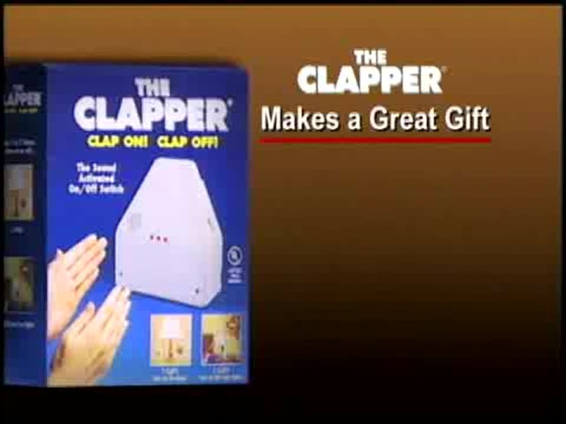 The Clapper - The Sound Activated On/Off Switch - image 10 from the video