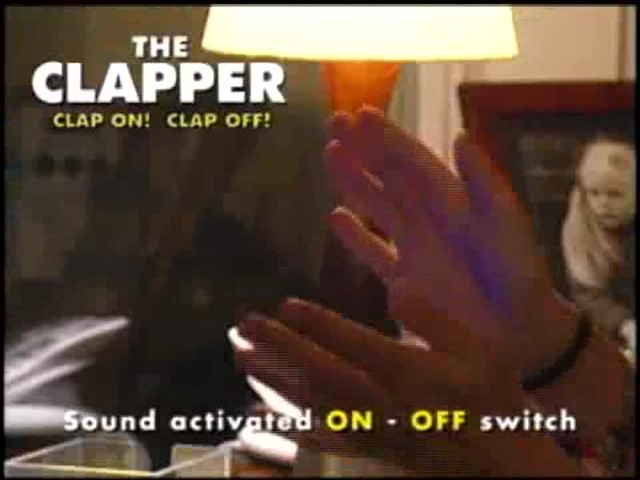 The Clapper - The Sound Activated On/Off Switch - image 2 from the video