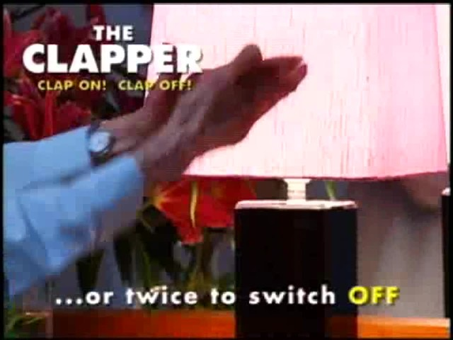 The Clapper - The Sound Activated On/Off Switch - image 3 from the video