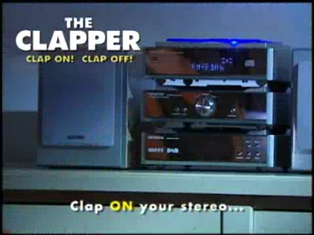 The Clapper - The Sound Activated On/Off Switch - image 4 from the video