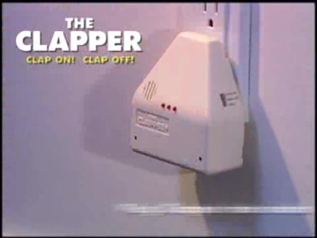 The Clapper - The Sound Activated On/Off Switch - image 5 from the video