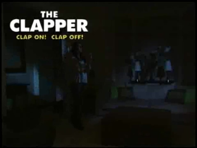 The Clapper - The Sound Activated On/Off Switch - image 6 from the video