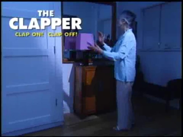 The Clapper - The Sound Activated On/Off Switch - image 7 from the video