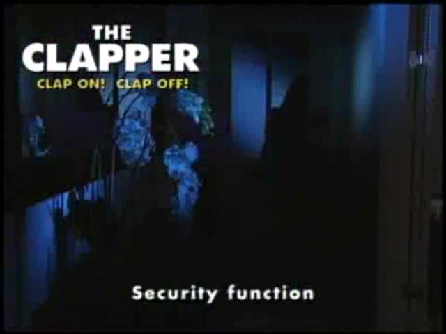 The Clapper - The Sound Activated On/Off Switch - image 8 from the video