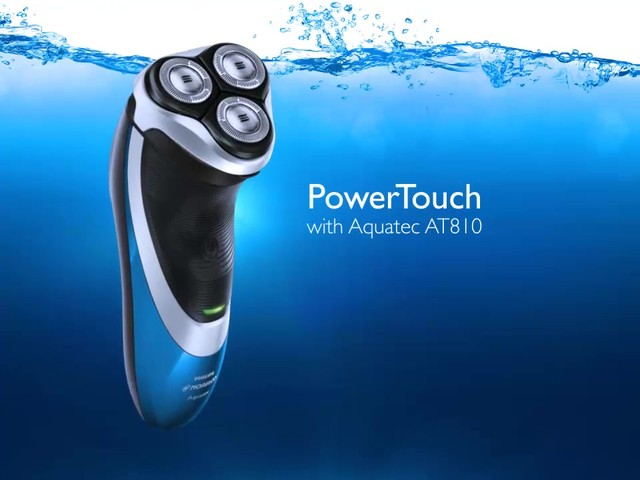 Norelco Powertouch Cordless Razor with Aquatec, Model AT810 product | drugstore.com - image 1 from the video