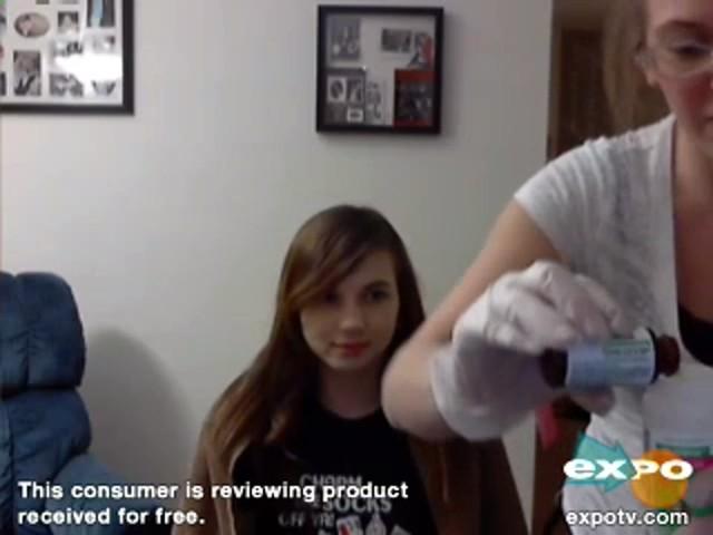 Garnier Nutrisse Nourishing Color Foam - image 2 from the video
