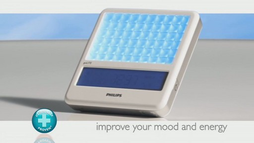 Philips Light Therapy goLITE BLU Plus Energy Light review | drugstore.com - image 9 from the video