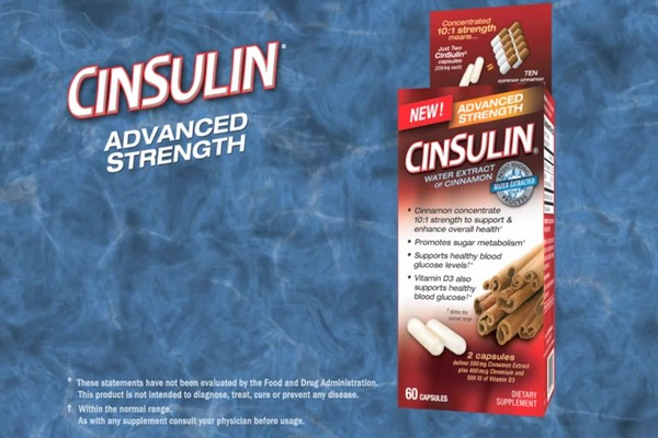 CinSulin Water Extract of Cinnamon, Advanced Strength, Capsules product | drugstore.com - image 3 from the video