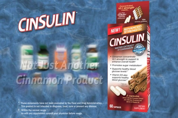 CinSulin Water Extract of Cinnamon, Advanced Strength, Capsules product | drugstore.com - image 5 from the video