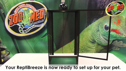 Zoo Med Reptibreeze Open Air Screen Cage - Instructional Video - image 9 from the video