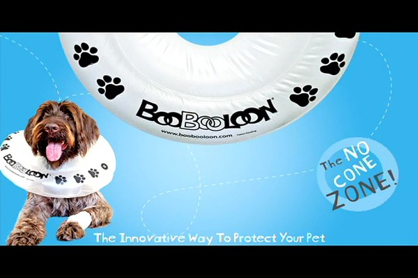 BooBooLoon Pet Recovery Collar - image 10 from the video