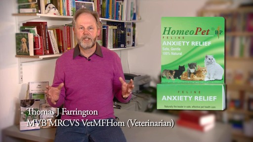HomeoPet Feline Anxiety Relief - image 1 from the video