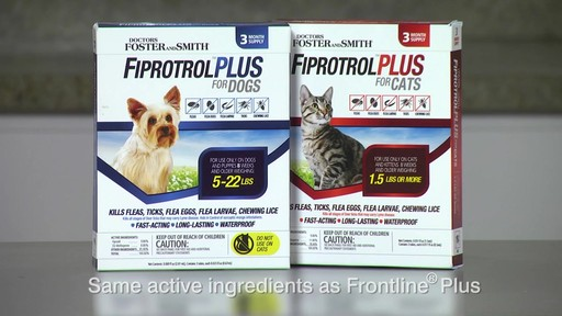 Doctors Foster   Smith Fiprotrol Topical Flea & Tick Control - image 5 from the video