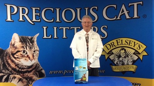 Precious Cat Dr. Elsey's Respiratory Relief Silica Cat Litter - image 3 from the video