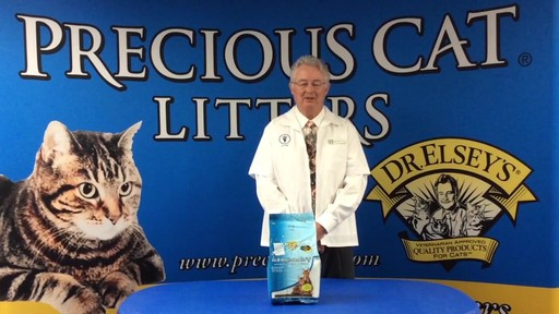 Precious Cat Dr. Elsey's Respiratory Relief Silica Cat Litter - image 4 from the video