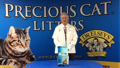 Precious Cat Dr. Elsey's Respiratory Relief Silica Cat Litter - image 9 from the video