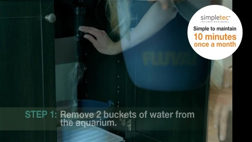Fluval Accent Aquarium and Cabinet Combo - image 3 from the video