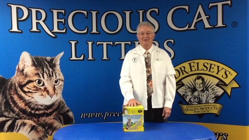 Precious Cat Dr. Elsey's Touch of Outdoors Multi-Cat Litter, 20 lbs. - image 2 from the video