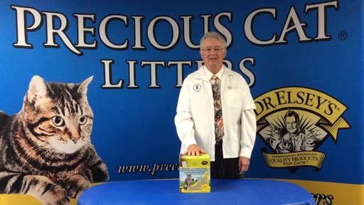 Precious Cat Dr. Elsey's Touch of Outdoors Multi-Cat Litter, 20 lbs. - image 3 from the video