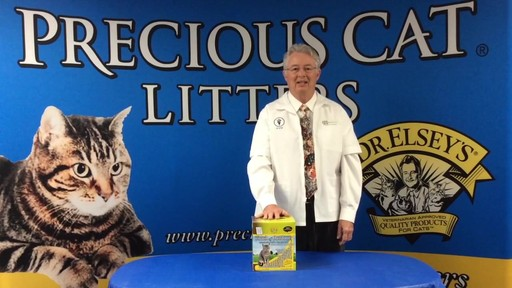 Precious Cat Dr. Elsey's Touch of Outdoors Multi-Cat Litter, 20 lbs. - image 6 from the video
