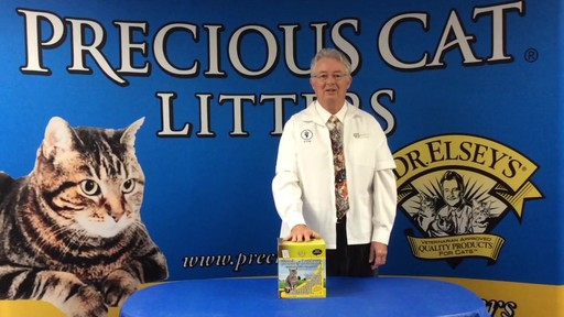 Precious Cat Dr. Elsey's Touch of Outdoors Multi-Cat Litter, 20 lbs. - image 7 from the video
