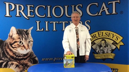 Precious Cat Dr. Elsey's Touch of Outdoors Multi-Cat Litter, 20 lbs. - image 8 from the video