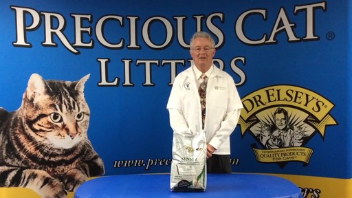 Precious Cat Dr. Elsey's Senior Cat Litter, 8 lbs. - image 8 from the video