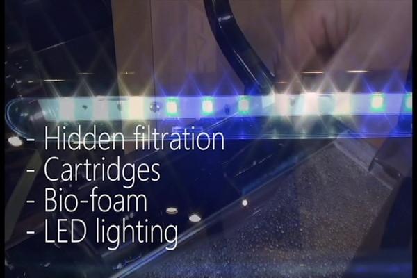 Marineland Silhouette Glass 3 Gallon LED Aquarium Kit ...