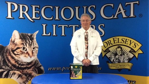 Precious Cat Dr. Elsey's Respiratory Relief Clumping Clay Cat Litter, 20 lbs. - image 10 from the video