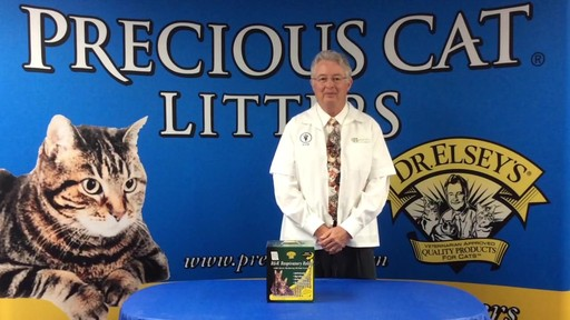 Precious Cat Dr. Elsey's Respiratory Relief Clumping Clay Cat Litter, 20 lbs. - image 3 from the video