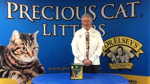 Precious Cat Dr. Elsey's Respiratory Relief Clumping Clay Cat Litter, 20 lbs. - image 5 from the video