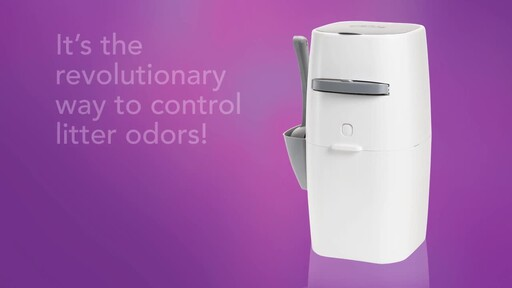 Litter Genie Plus Cat Litter Disposal System - image 2 from the video