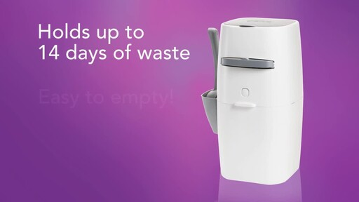 Litter Genie Plus Cat Litter Disposal System - image 8 from the video