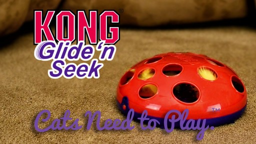 KONG Glide & Seek Cat Toy - image 10 from the video