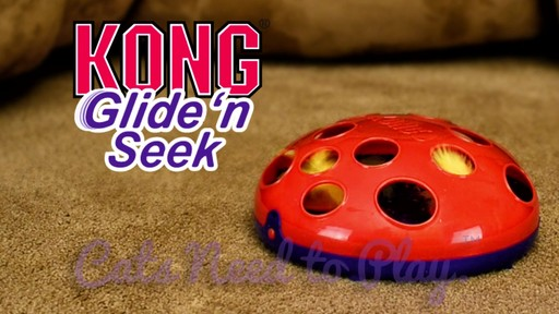 KONG Glide & Seek Cat Toy - image 9 from the video