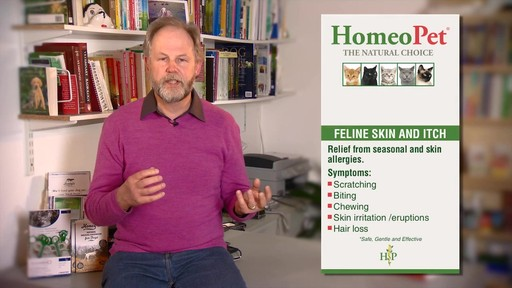 HomeoPet Feline Skin & Itch Natual Cat Coat Enhancer - image 4 from the video