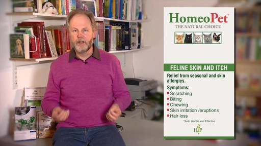 HomeoPet Feline Skin & Itch Natual Cat Coat Enhancer - image 5 from the video
