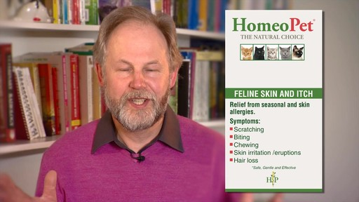 HomeoPet Feline Skin & Itch Natual Cat Coat Enhancer - image 7 from the video