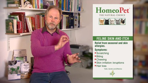 HomeoPet Feline Skin & Itch Natual Cat Coat Enhancer - image 9 from the video