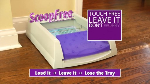 ScoopFree Self-Cleaning Litter Box - image 1 from the video