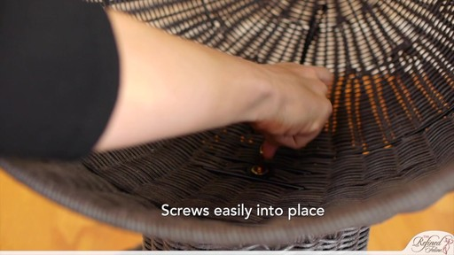 The Refined Feline Kitty Ball Bed in Espresso - image 7 from the video